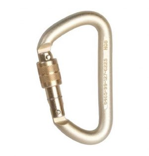 DMM Offset D Steel Screwgate Carabiner