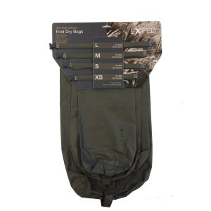 Exped Fold Dry Bag 4 Pack - Tactical